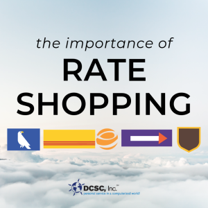 rate shopping