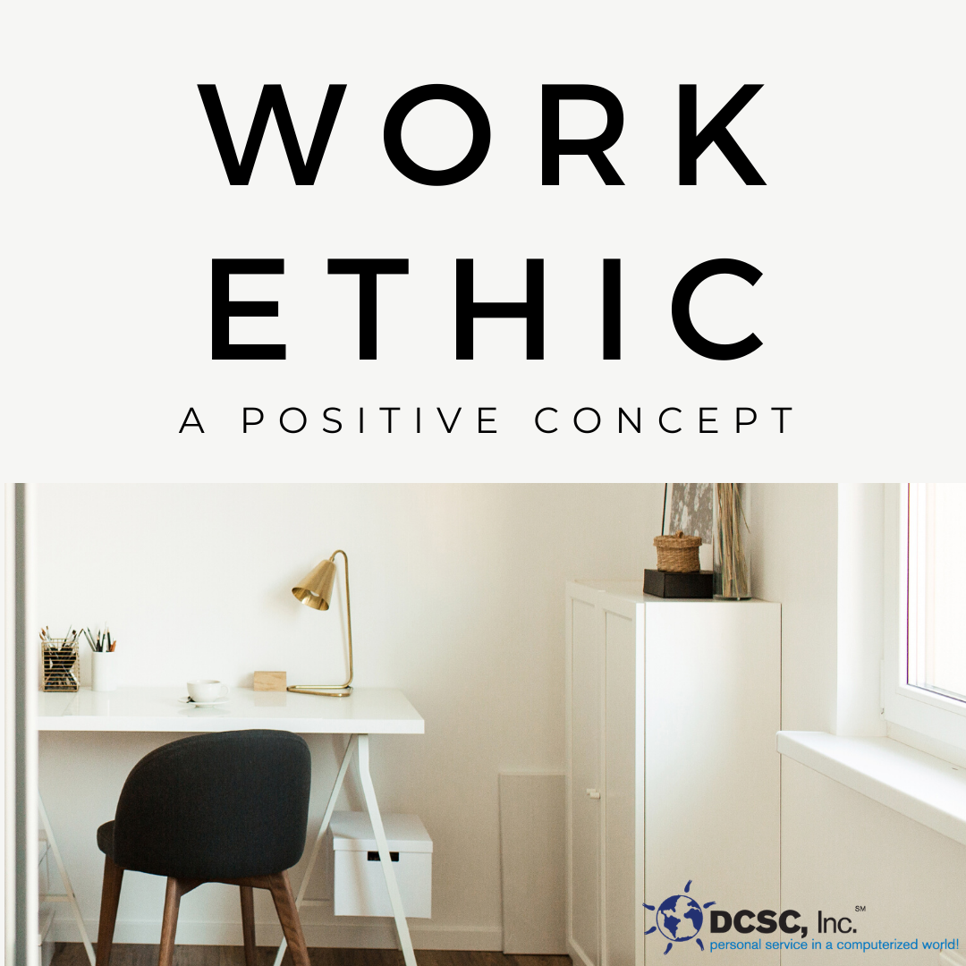 work ethic blog